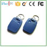 Clé Fob d'IDENTIFICATION RF de Fin de support-IDENTIFICATION de Tk4100 125kHz avec le numéro de carte gravé de code une garantie d'an