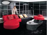 حديثة يعيش غرفة أثاث لازم جلد قطاعيّ أريكة محدّد [أو] شكل أريكة