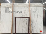 Bianco/Black/Wood Marble Stone Slabs e Flooring Tiles