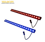 Alto brillo cambiante del color LED de pared al aire libre luces 18W / 24W / 36W Luz impermeable Bar