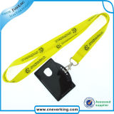 Fuzhou Audited Promotional Custom Lanyard avec Card Holder