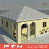 速いインストール調節のためのプレハブの鋼鉄別荘の家