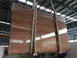 Brown отполировал мраморный сляб для вены /Floor стены имперской деревянной