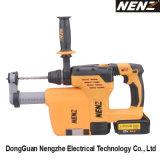Ferramenta elétrica recarregável de Nz80-01 China com controle de poeira