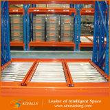 Racking de venda quente da pálete do rolamento da gravidade do armazém da economia do espaço