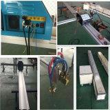 Máquina de estaca portátil do plasma do CNC do aço