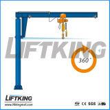 Assoalho de Liftking - montado girar o guindaste de patíbulo