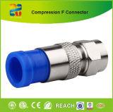 2015 Nueva RG6 Compresión RF Coaxial Conectores