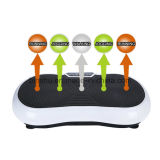 200W Motorの完全なBody Vibration Plate Fit Massager