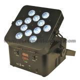 IGUALDAD con pilas sin hilos 12X12W RGBWA+UV 6 in-1 de DMX LED