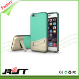 Случай мобильного телефона цвета контраста способа комбинированный с держателем автомобиля
