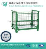 Jaula del acoplamiento de alambre del almacenaje del metal