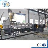 Línea de granulación reciclada cable estirador de dos fases del PVC