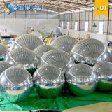 Globo Espejo de fábrica al por mayor de los ornamentos decorativos mini disco inflable bola de espejo