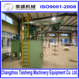 Q37ホックのタイプISO9001によって承認されるショットブラスト機械中国製