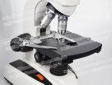 O microscópio binocular biológico o mais barato de instrumentos óticos do laboratório de FM-F6d
