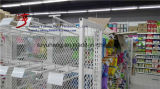 Crochet s'arrêtant en métal d'étalage de supermarché de GV à vendre