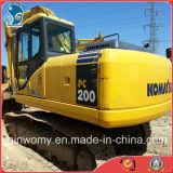 Usados original Komatsu Excavadora (PC200-7)