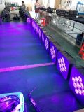 インポートされたBattery LED High Power 9PCS Wireless Battery Light LED PAR Light Stage Light
