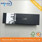 Boîte en carton noire mate de empaquetage avec le logo UV (QYZ158)