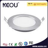 Branco da luz de painel do diodo emissor de luz do alumínio Ce/RoHS/frame da tira
