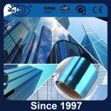 2mil Blue Silver Building Ventana Solar Película Tintada