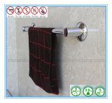 Única cremalheira de toalha do aço inoxidável da barra com copo da sução