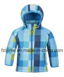 Kids Wear Moda com capuz manta Softshell Jacket