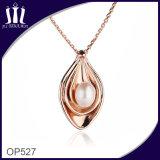 El vacío Op527 plateó el colgante embutido de la joyería de la perla natural