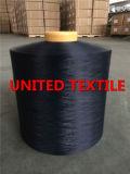 Azul 100% de marina de guerra teñido droga del hilado del poliester que teje DTY (150D/48F SD NIM)