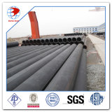De gran diámetro de pared gruesa LSAW de acero soldado de tuberías, API 5L X52, X65m PSL2 aceite de la transmisión Pipeline