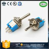 On-on Spdt 3p 6A 125VAC Sub-Miniature Toggle Switch