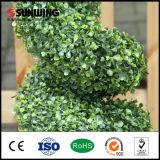 Preiswerte Anti-UVfreundliche künstliche Topiary-Baum-Kugeln für Feiertags-Dekor