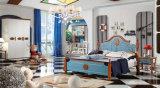 A mobília a mais atrasada do quarto projeta o retrato de madeira dos modelos da cama (SZ-BT9907)