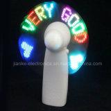 LED는 불이 켜진다 주문을 받아서 만들어진 로고 (3509)를 가진 선물 소형 팬을