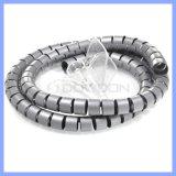 Plastikdraht-Management-Schlange-Kabelmuffe 1.5 Meter Kabel-Aufbewahrungsbehälter-Universalkabelklemme-gewundene einwickelnband-
