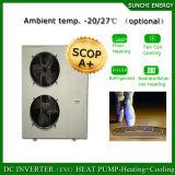 Chauffage fendu de pompe à chaleur de source d'air de cop élevé Automatique-Defrsot de l'hiver 12kw/19kw/35kw de neige de la technologie -25c d'Evi et produits de refroidissement