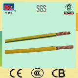 6sqmm Earthing Wire Yellow e Green para Building H07V-U H07V-R