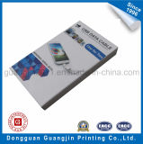 Rectángulo de empaquetado modificado para requisitos particulares de la cartulina rígida de papel para el producto electrónico