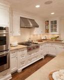 台所家具のメラミンMDFのキャビネット(GOLE069)
