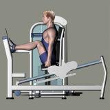 Strumentazione di forma fisica/strumentazione di ginnastica per la pressa del piedino di 45-Degree (FM-1024B)