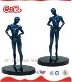 PlastikWarrior Figure Toy Ride auf Horseback (CB-PF012-M)