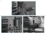 엔진 선반 해외 엔지니어 상해 Yixing 공작 기계 선반 공구에 의하여 유효한 CNC 선반 기계 가격 두 배 스핀들