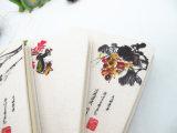 Cahier attaché de housse en toile de modèle chinois de colle (XL-32K-mm-03)