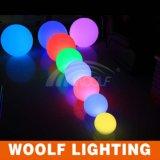 장식적인 RGB ED 공 먼 통제되는 건전지에 의하여 운영하는 LED 가벼운 공