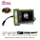 Instrumento do teste de gravidez do varredor do ultra-som dos animais de estimação