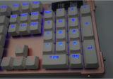 Backlit LED를 가진 인간 공학 작풍 USB에 의하여 타전되는 기계적인 키보드