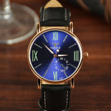 Wristwatch кварца Lumious вскользь любовника способа