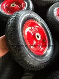 Maxtop 공장 가격 고무 외바퀴 손수레 바퀴