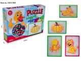 Brinquedos coloridos do enigma para miúdos